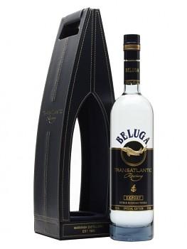 Beluga Transatlantic Vodka - Leather Box         0,7L 40%