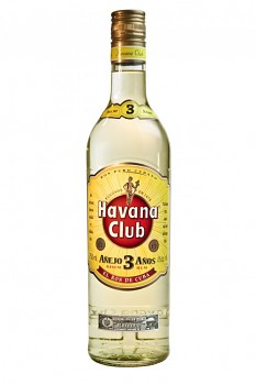 Havana Club 3 yo                                         0,7L 40%