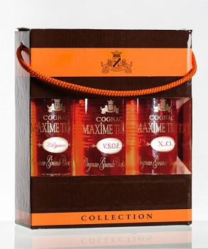 Maxime Trijol Grande Champagne Collection 3 x 0,2L