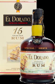 EL DORADO 15YO +sklo 0,7l 43%