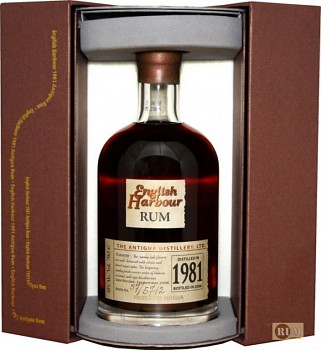 English Harbour Rum 25 y  1981                    0,7L 40%