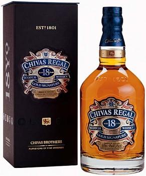 CHIVAS REGAL 18Y 0,7l 40%obj.