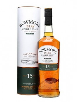 Bowmore 15y Single Malt                  70 cl   43% vol.