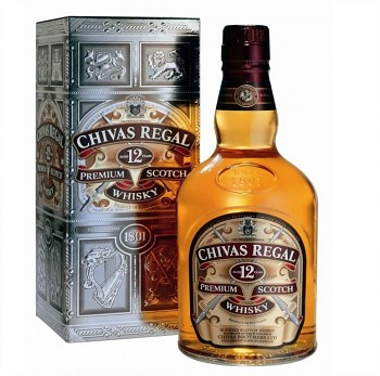 Chivas Regal 12 y v kartónku        70 cl 40%
