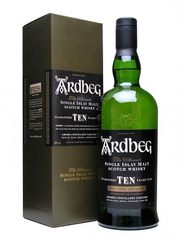 Ardbeg 10 y Single Malt GB                    70 cl  46%