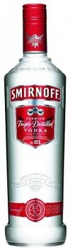 Smirnoff Vodka Red                             0,7 L 37,5%