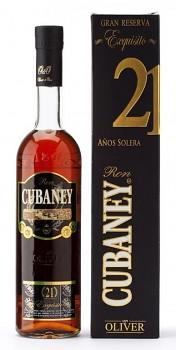 Cubaney Solera 21 yo                           0,7l 38 %
