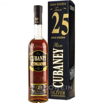 Cubaney Grand Reserva 25y. Rum          0,7l 38 %