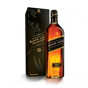 JOHNNIE WALKER  BLACK 12y 0,7l 40%