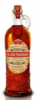 PROHIBIDO EL RON HABANERO 12YO 0,7l40%