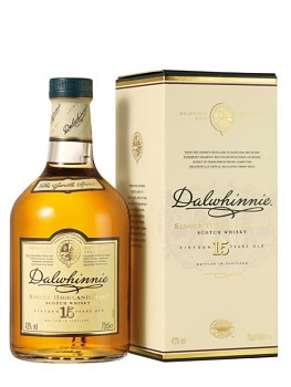 Dalwhinnie Single Malt Whisky 15 y                 0,7 l 43%