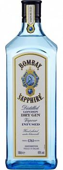 Bombay Saphire Gin                                1 L   40%