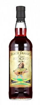 BLACK JAMAICA SPICED 0,7l   35%