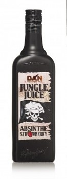 TUNEL Absinth Strowberry Jungle Juice    70 cl 30 % vol.