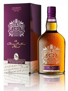 Chivas Regal 12 y The Brothers Blend              1 L 40%