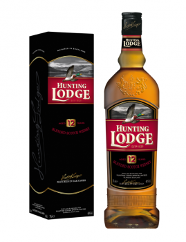 HUNTING LODGE 12YO +GB 0,7l   40%