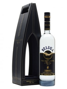 Beluga Transatlantic Vodka - Leather Box         0,7L 40%