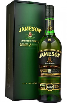 Jameson 18 yo Limited Reserve                    70 cl  40%