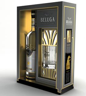Beluga  Noble se sklem 0,7l 40%