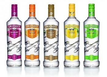 Smirnoff Strawberry Twist Vodka                1L 35 %