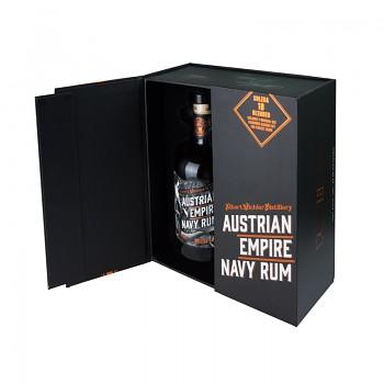 Austrian Empire Navy Rum Solera 18 yo Kazeta + 2x sklenička   0,7L 40%