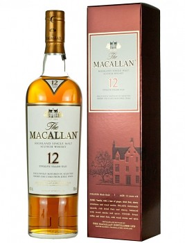 MACALLAN 12y SHERRY OAK 0,7l 40%