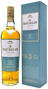MACALLAN 15y FINE OAK 0,7l 43%