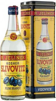 R. Jelínek Slivovice kosher 5yo             50% 0,7 l