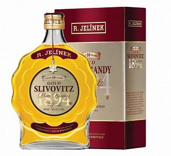 R. Jelínek Slivovice Kosher Gold             50%  0,7 l