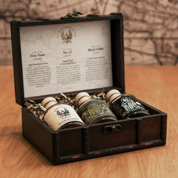 PIRATE'S GROG GIFT SET 3x0.05l