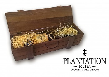Plantation Pinapple Rum Wood Box           0,7l 40%