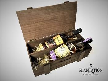 Plantation Original Dark & Plantation Panama 2004 Wood Box 2 x 0,7L