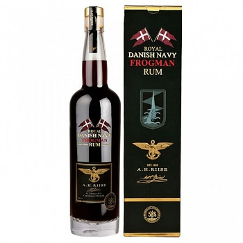 A.H.Riise Royal Danish Navy Rum Frogman    0,7l  58%