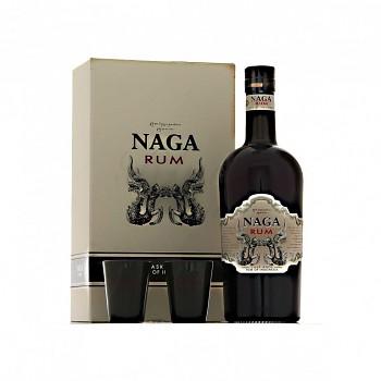 Naga Rum sada 2 x sklo                         0,7L 40%