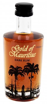 mini GOLD OF MAURITIUS DARK 0,05l 40%