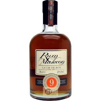 MALECON LICOR DE RON 9yo 0,7l 35%