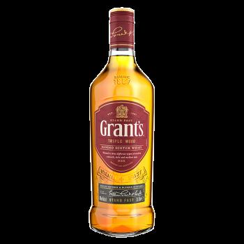 GRANT'S TRIPLE WOOD 0,7l 40%obj.