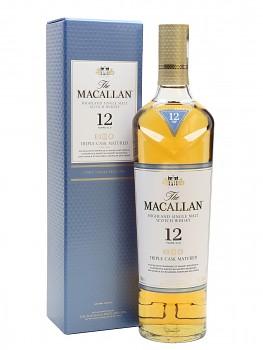 MACALLAN 12Y TRIPLE CASK 0,7l 40% obj.