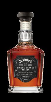 JACK DANIELS SINGLE BARREL 0,7l 45% GB