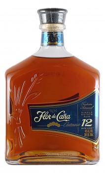 FLOR DE CANA 12Y 1l 40%obj.