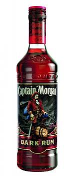 CAPTAIN MORGAN DARK RUM 1l  40%