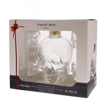 CRYSTAL HEAD + sklo 0,7l 40%