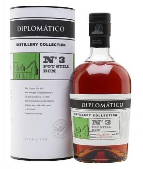 DIPLOMATICO No.3 POT STILL 0,7l 47%L.E