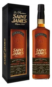 SAINT JAMES SINGLE CASK 1997 0,7l42.7%
