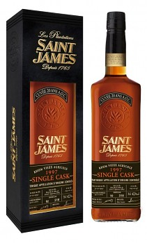 SAINT JAMES SINGLE CASK 19970,7l42,7%obj