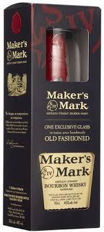 MAKERS MARK + sklo 0,7l 45%