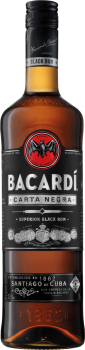 BACARDI CARTA NEGRA 0,7l 37,5% obj