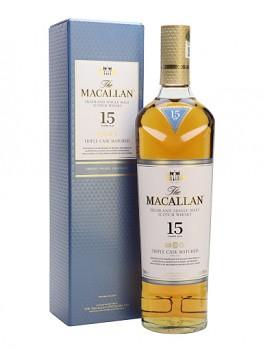 MACALLAN 15Y TRIPLE CASK 0,7l 43%