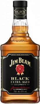 JIM BEAM BLACK EXTRA AGED 0,7L 43% obj.
