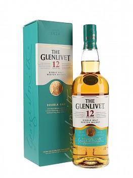 GLENLIVET 12Y DOUBLE OAK 0,7l 40%obj.
